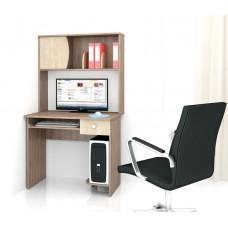 Компьютерный стол Тэкс Грета-4 ясень шимо / дуб сонома