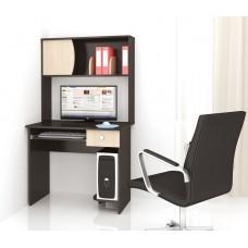 Компьютерный стол Тэкс Грета-4 венге цаво / дуб молочный
