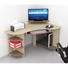 Компьютерный стол Тэкс Грета-5 ясень шимо / дуб сонома