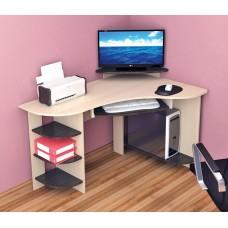 Компьютерный стол Тэкс Грета-5 венге / дуб молочный