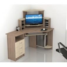 Компьютерный стол Тэкс Грета-7 ясень шимо / дуб сонома