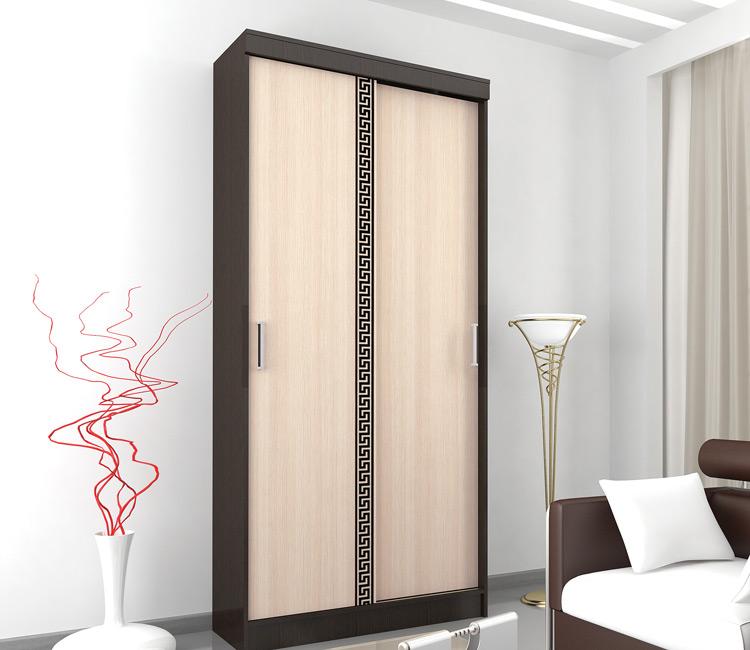 Купить шкаф Тэкс АФИНА комбинированный платяной со штангой для одежды  в спальню в Минске