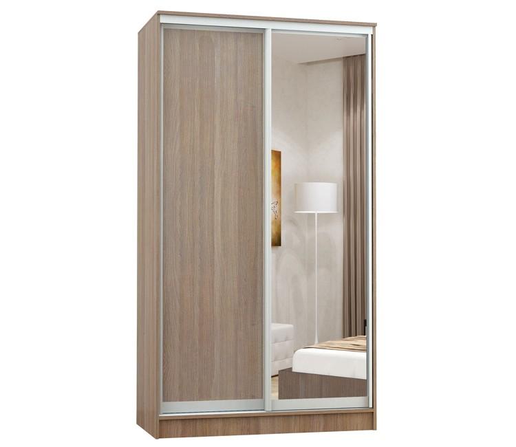 Купить шкаф Тэкс Комфорт-2 1450 шимо 1 зеркало комбинированный платяной со штангой для одежды  в спальню в Минске