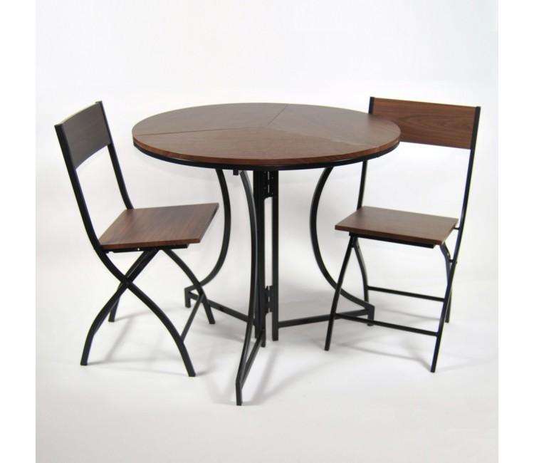 Комплект садовой мебели DOMM MY0001K венге раскладной