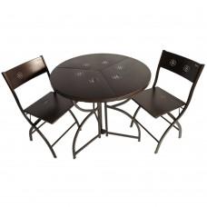 Комплект садовой мебели DOMM YS металлический раскладной
