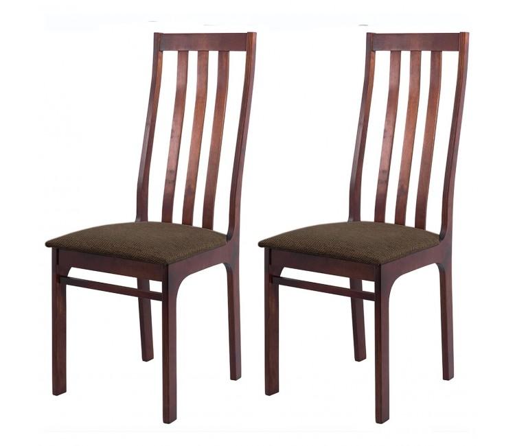 Комплект стульев С36  (2шт) грецкий орех/аполло браун
