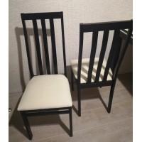Обеденная группа №16 Стол Ст03Б1 венге/валенсия+ 4 стула С36 венге/аполло линен