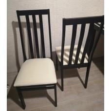 Комплект стульев С36  (2шт) венге/аполло линен