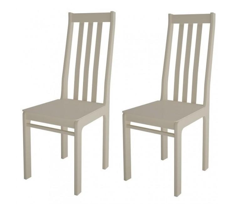 Комплект стульев С36А (2шт) молочный
