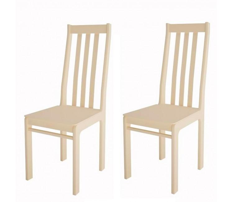 Комплект стульев С36А (2шт) слоновая кость