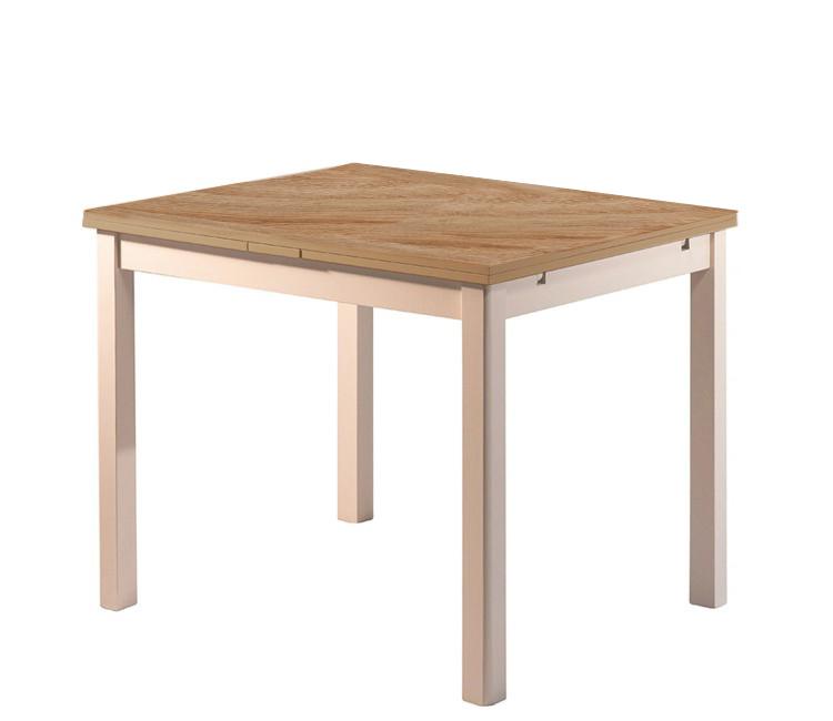 Стол ст01 слоновая кость/дуб сонома