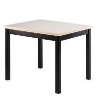 Обеденная группа №5 Стол Ст01 венге/валенсия+ 4 стула С39М3 венге/аполло линен