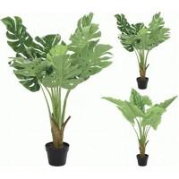 Искусственное растение Альта монстера 1 ветка
