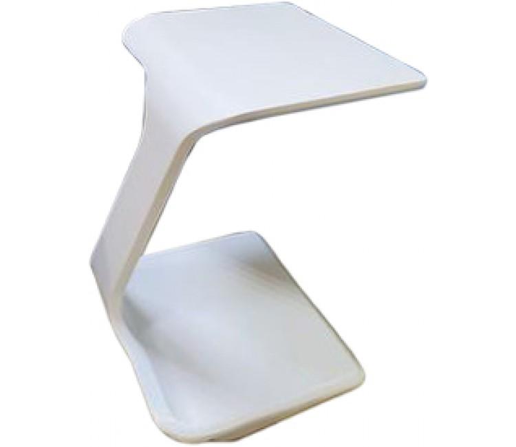Приставной столик НЕРО белый