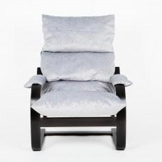 Кресло ГринТри Онега венге/ткань Лазурь