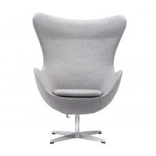 Кресло Яйцо EGG (кашемир) светло-серый
