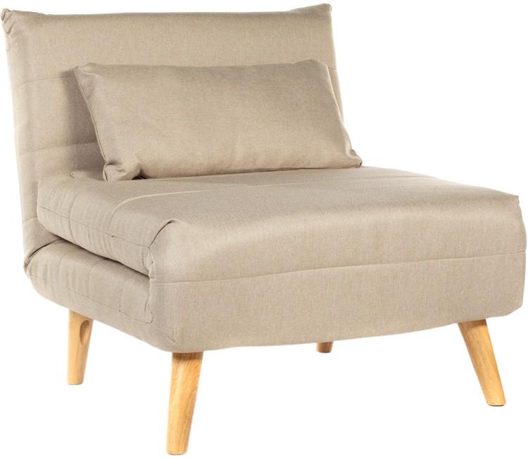 Кресло-кровать светло-бежевый