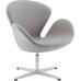 Кресло Swan Свон (кашемир) светло-серый