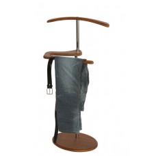 Вешалка для одежды напольная стойка Адъютант орех