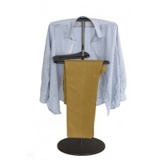 Вешалка для одежды напольная стойка Адъютант венге