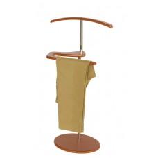 Вешалка для одежды напольная стойка Адъютант вишня