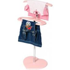 Вешалка для одежды Сердечко напольная стойка детская для девочек