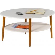 Журнальный столик Эль белый