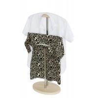 Вешалка для одежды стойка Напольная дуб беленый