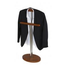Вешалка для одежды стойка Напольная орех