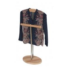 Вешалка для одежды стойка Напольная слива