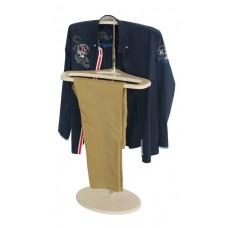 Вешалка для одежды напольная стойка Поручик дуб