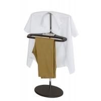Вешалка для одежды напольная стойка Поручик венге
