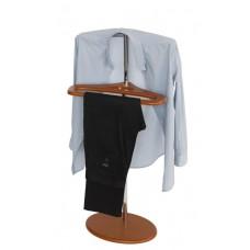 Вешалка для одежды напольная стойка Поручик вишня