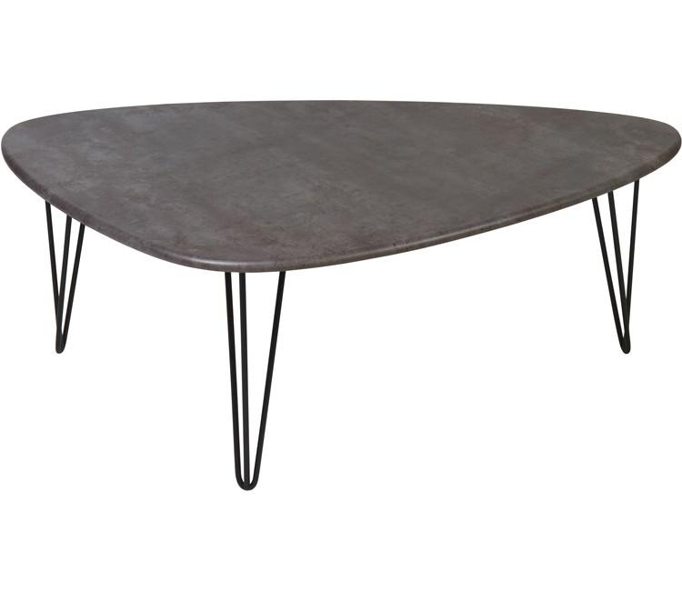 Журнальный столик Престон серый бетон
