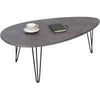 Журнальный столик Шеффилд серый бетон