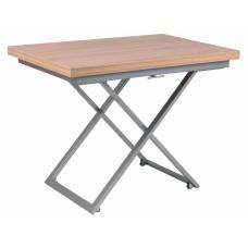 Levmar Compact дуб сонома стол-трансформер журнально-обеденный