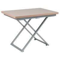 Levmar Compact капучино глянец стол-трансформер журнально-обеденный