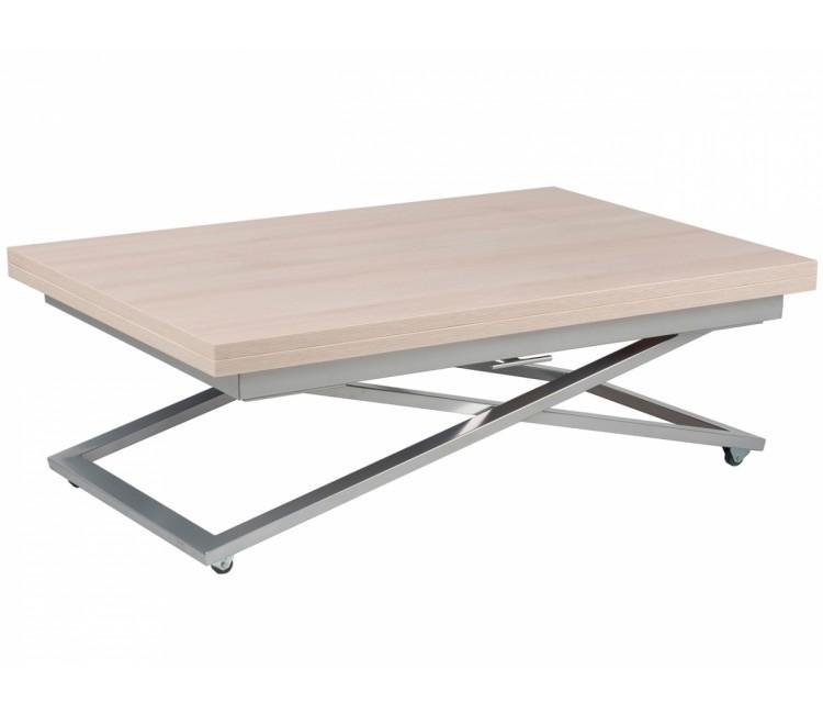 Стол трансформер журнально-обеденный Levmar Compact (Левмар Компакт) шамони светлый