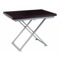 Levmar Compact венге матовый стол-трансформер журнально-обеденный