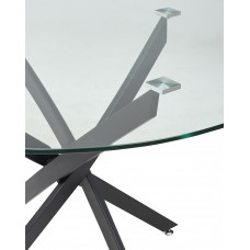 Стол круглый стеклянный нераздвижной ПЕТАЛ Petal d110