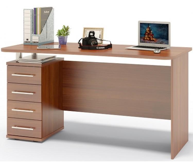 Компьютерный стол Тэкс Грета-15 итальянский орех