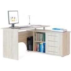 Компьютерный стол Тэкс Грета-16 правый дуб сонома