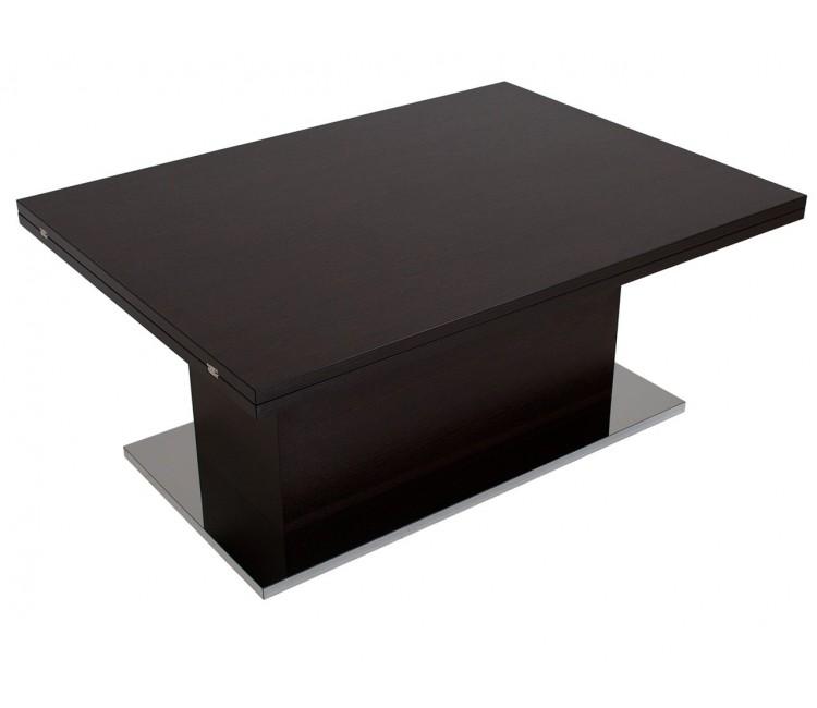 Журнальный стол-трансформер Левмар Levmar Slide Слайд венге матовый
