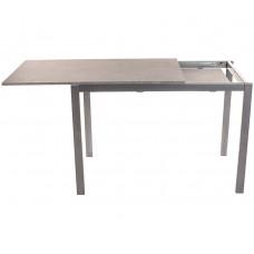 Стол Виста Ахен 70х110 (160) бетон + сатин