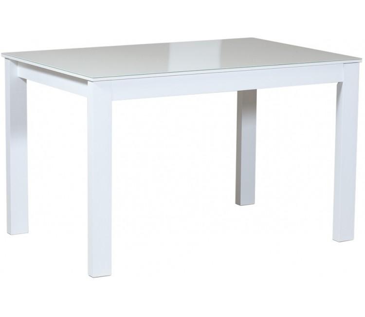 Стол для кухни обеденный раздвижной Виста Монреаль 70х110 (160) белый