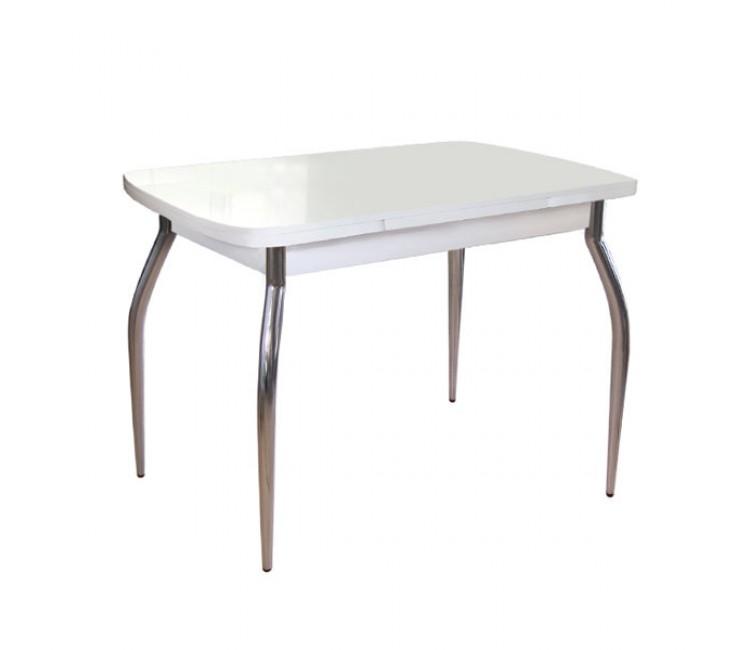 Стол обеденный Виста Сиэтл 60х90 (150) белый ТИП-ХРГ