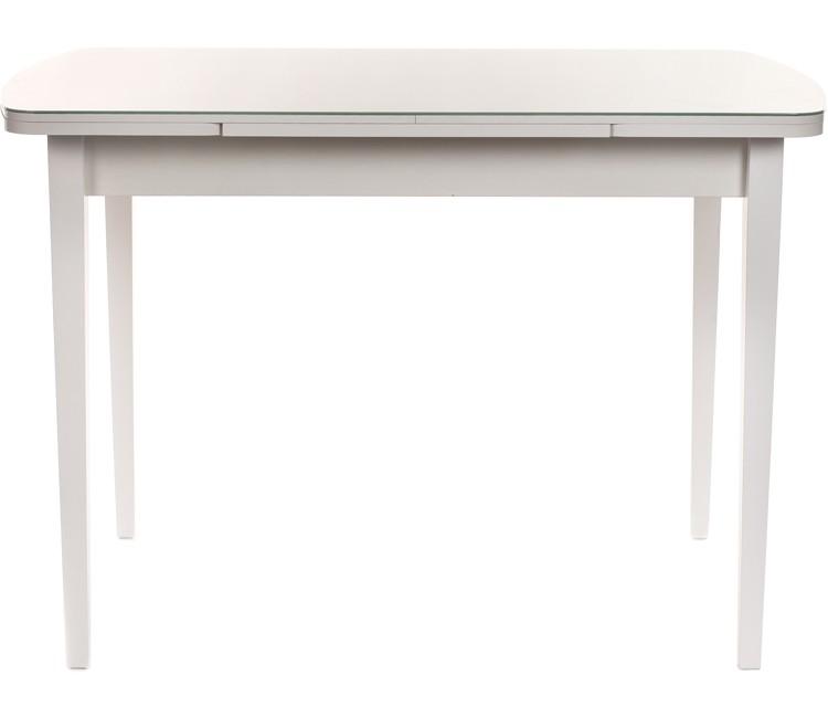 Стол обеденный Виста Сиэтл 68х110 (170) белый ТИП-КВ